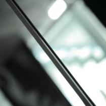 Profilo alluminio per accoppiamento vetri