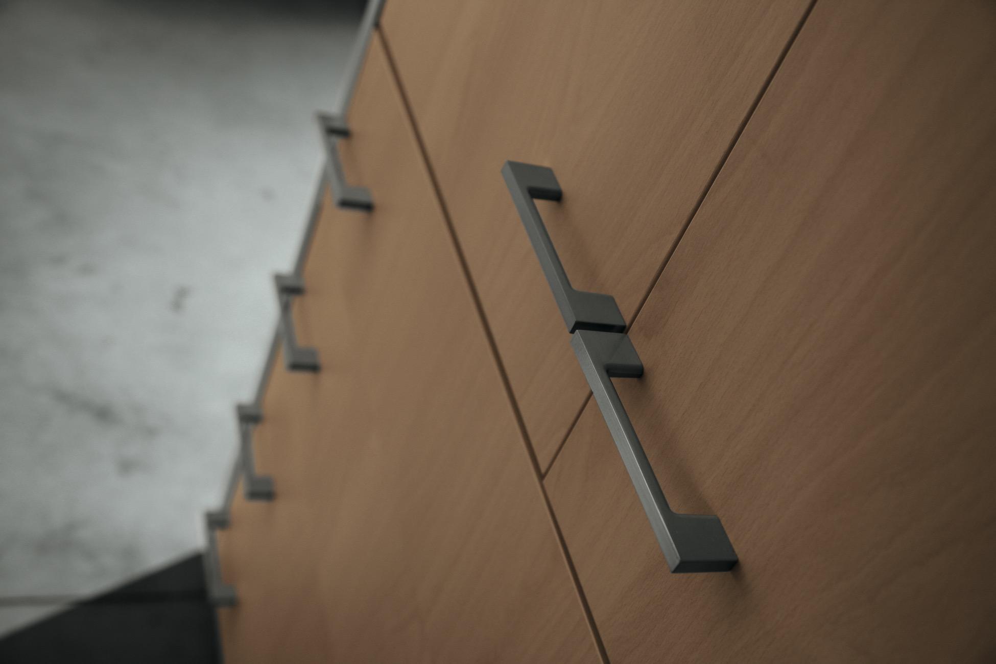 pareti attrezzate quadra