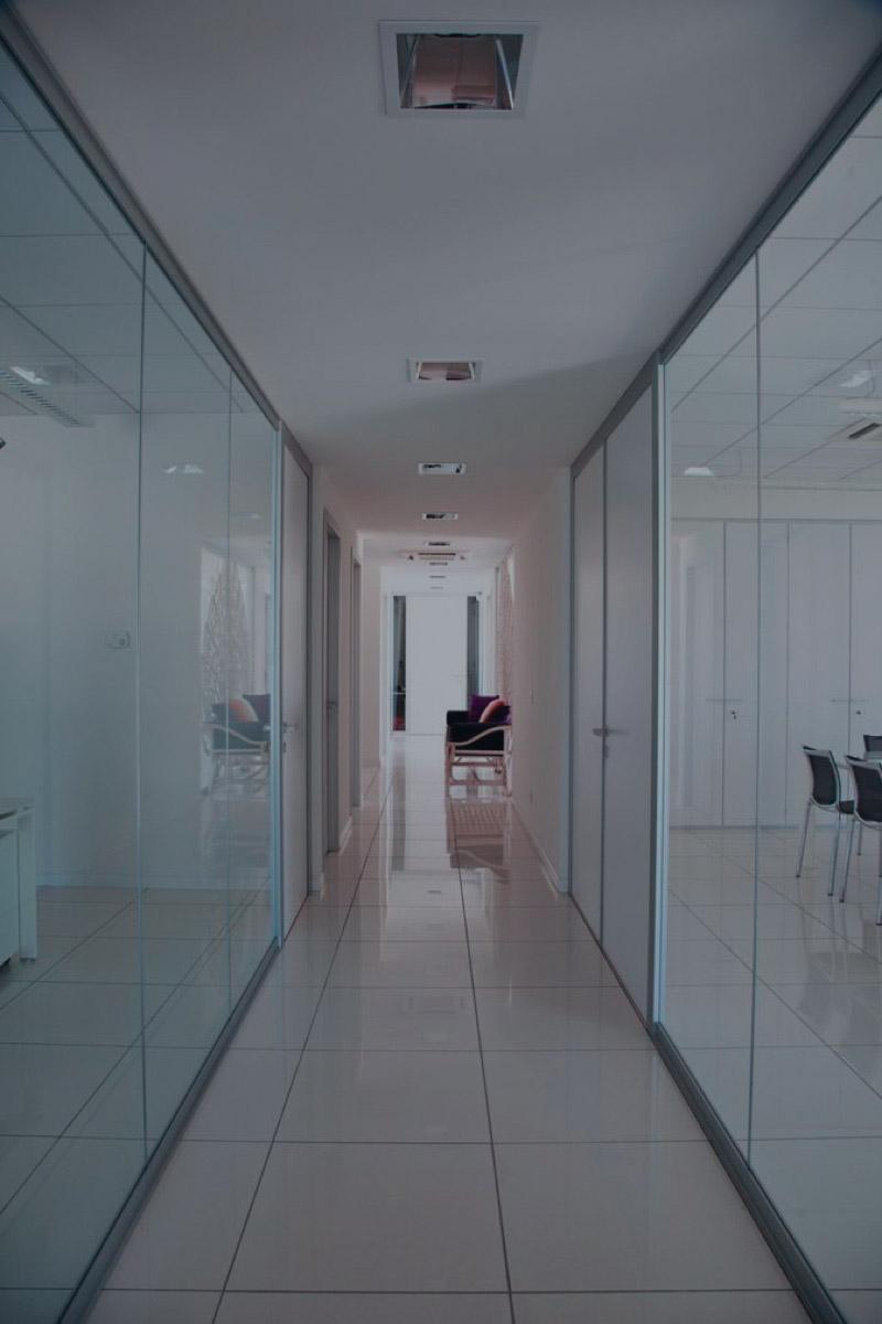 parete vetrata unica foto-F-dark